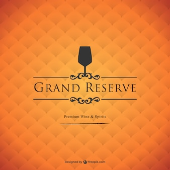 Grand reserve wine background