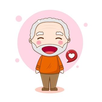 祖父のキャラクター