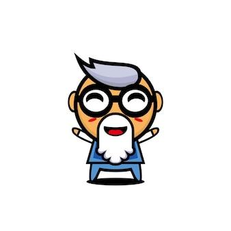 Grandpa cute design art cartoon character concept art