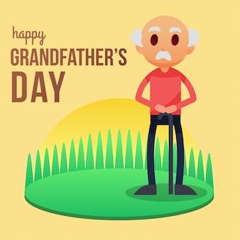 Grandparent's day illustration