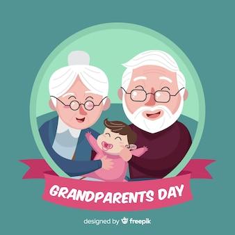 Grandparents day background