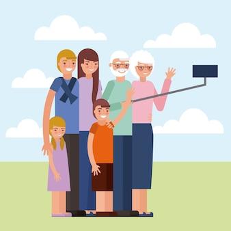 Дневная карточка бабушки и дедушки