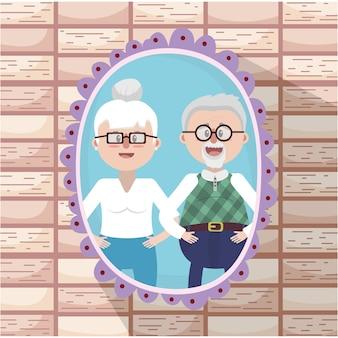 祖父母素敵なカップル