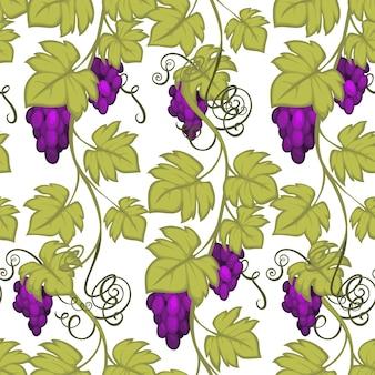 Ветки винограда, сбор урожая и виноделие.