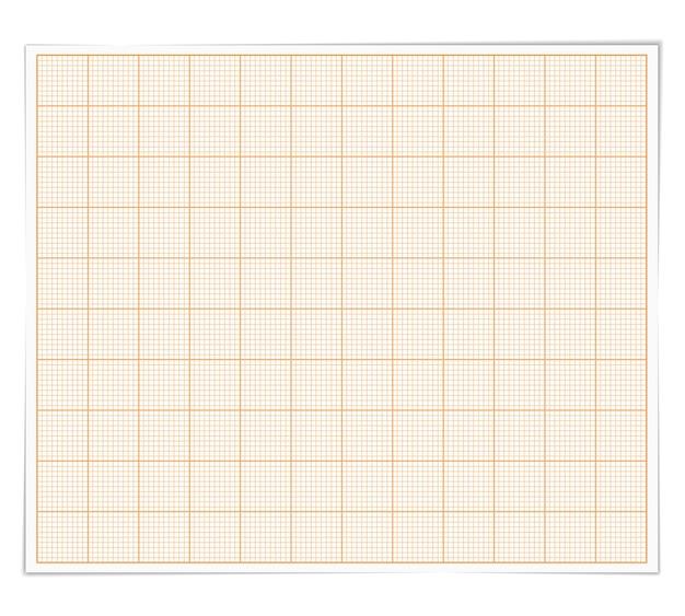 Graph paper, illustration