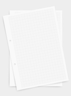 Graph paper sheet background with grid pattern.