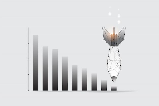 ビジネスのグラフィックコンセプト