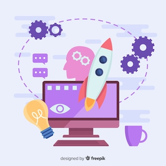 Graphic design creative process