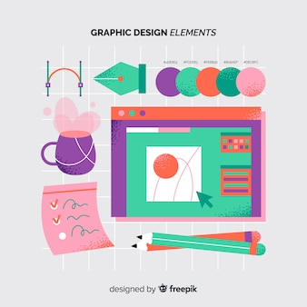 Graphic design element collection