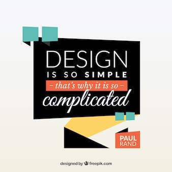Графический дизайн в плоском стиле