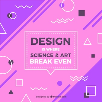 Graphic design quote with inspirational message