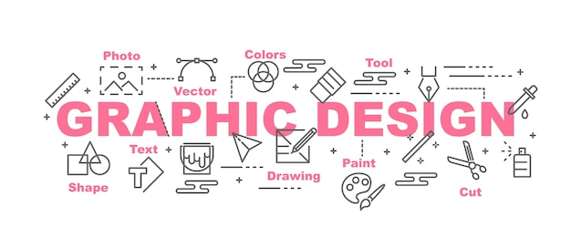 Graphic design vector banner