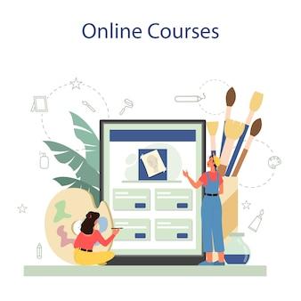 グラフィックデザイナー、イラストレーターのオンラインサービスまたはプラットフォーム