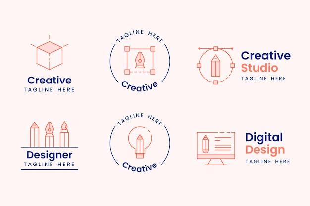 Graphic designer logo collection