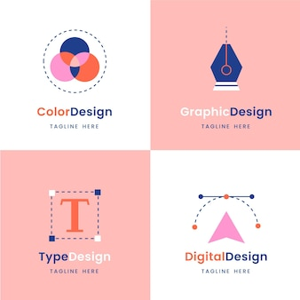 Graphic designer logo collection