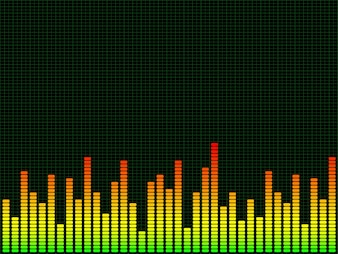 Graphic equaliser background