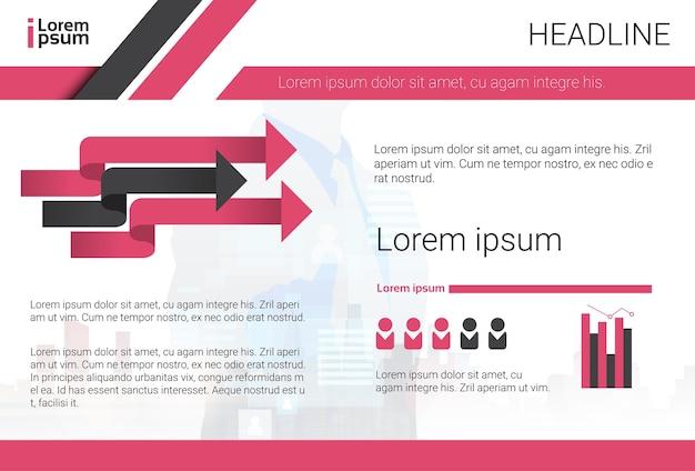 Graphic set bar infographic