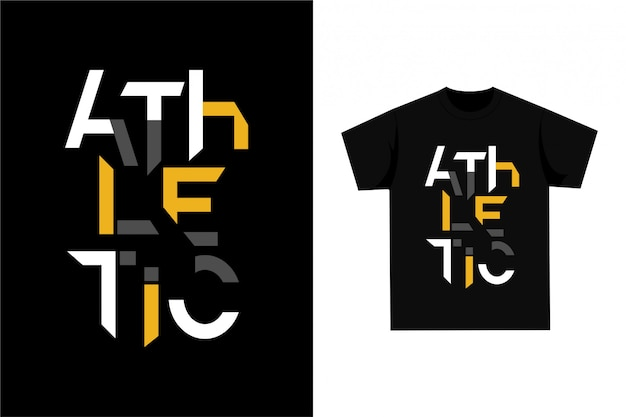 Graphic t-shirt - athletic