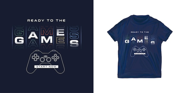 Графическая футболка gamer для мальчика