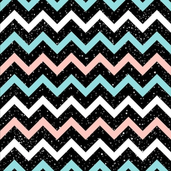 Graphic zig zag lines seamless pattern  background