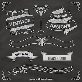 無料黒板grapic要素ポスター