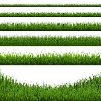 잔디 테두리 설정