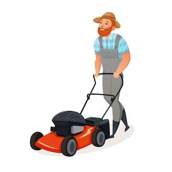 Grass cutting icon