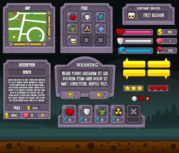 Графический интерфейс graveyard game