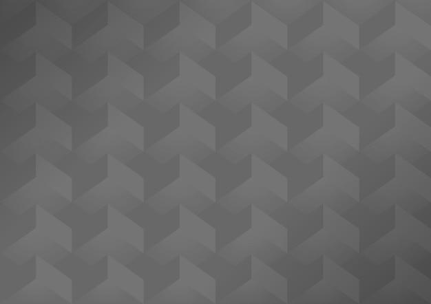グレーの3 d幾何学的なモダンな背景
