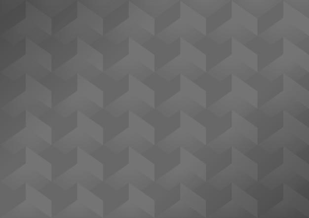 Gray 3d geometric modern background