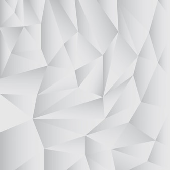 Gray abstract polygon background