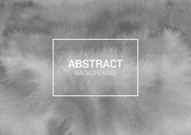 Серый абстрактный акварельный фон и акварельная текстура