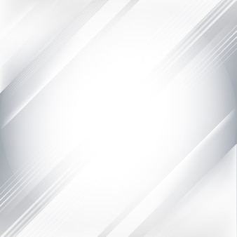 Gray and white gradient abstract background