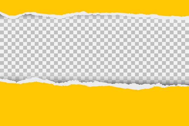 Copyspace와 찢어진 된 종이 가장자리 회색 배경입니다.