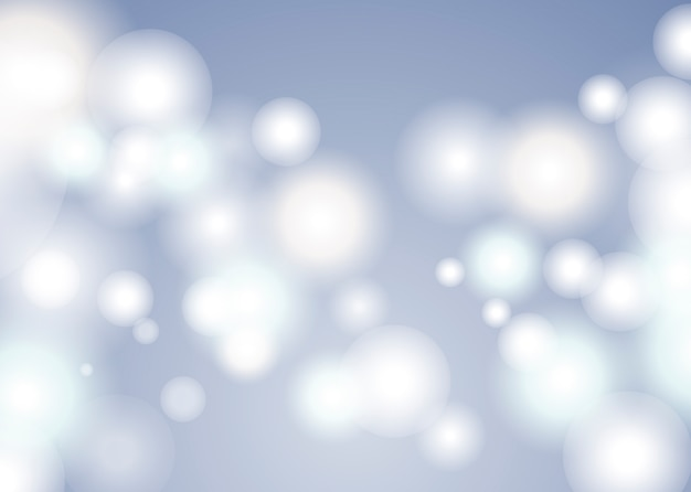 Gray bokeh background