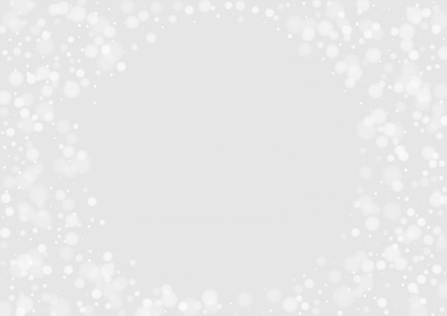 Gray flake graphic backdrop. vector snow pattern