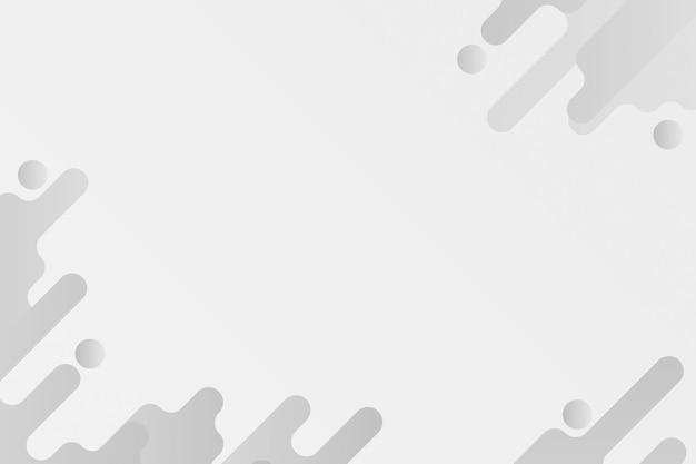 Gray fluid background frame
