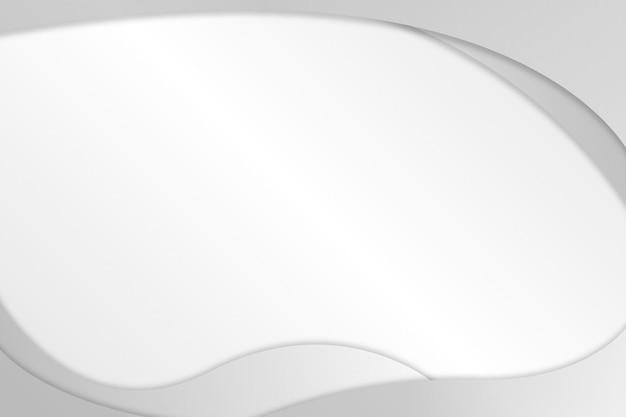 灰色の流体形状の背景