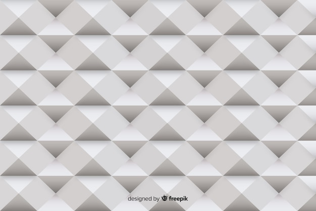 Gray geometrical shapes paper style