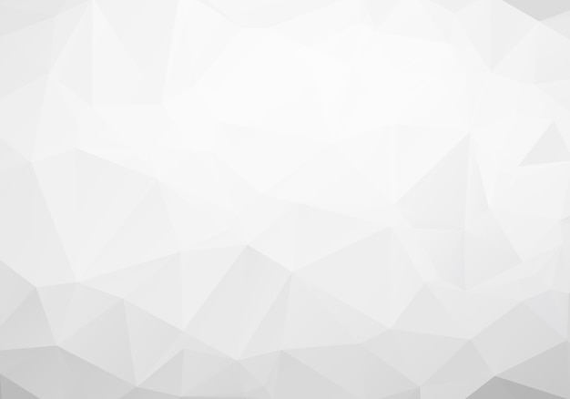Gray polygonal mosaic paper background