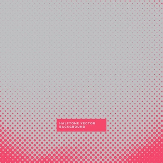 Gray and red background with halftone dots