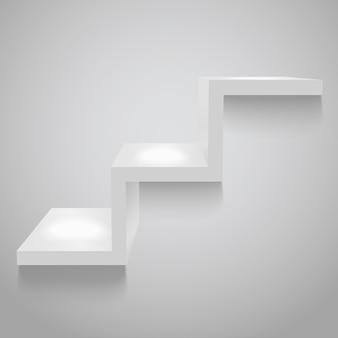 Gray shelf,