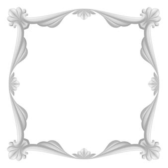 Gray vintage frame