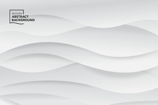 Gray wave vector abstract background