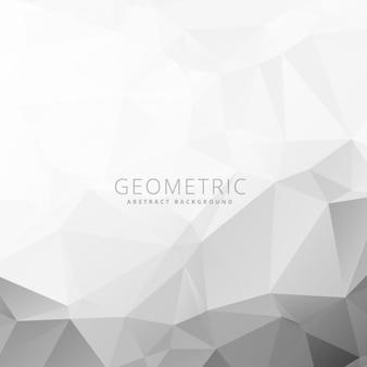 Grigio e geometrica sfondo bianco