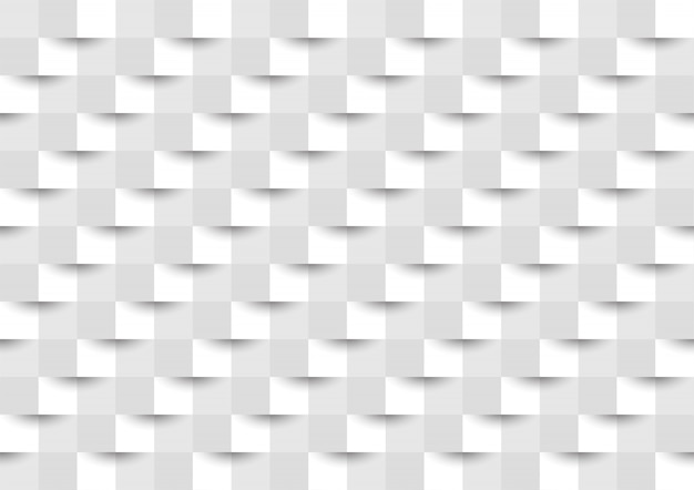 Gray and white square background
