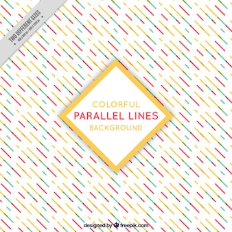 Great background with parallel lines in different colors