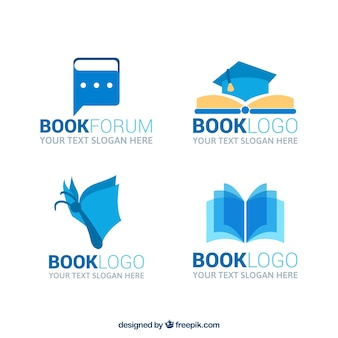Great book logos