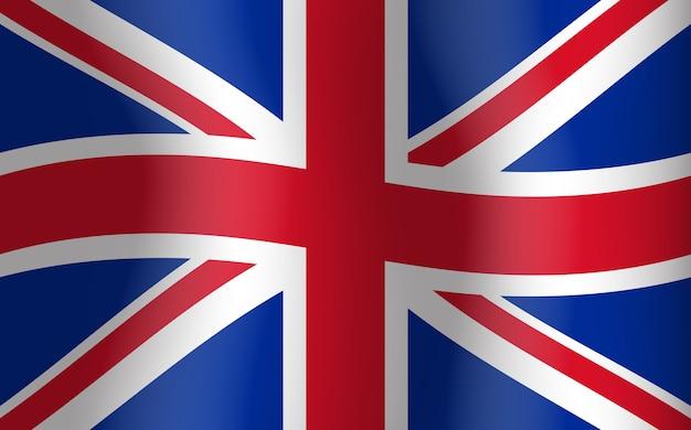 영국 흔들며 깃발 영국