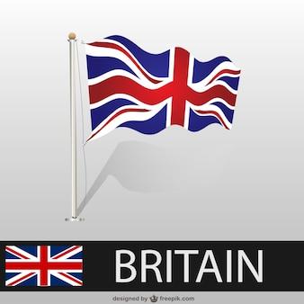 Great britainwaving flag